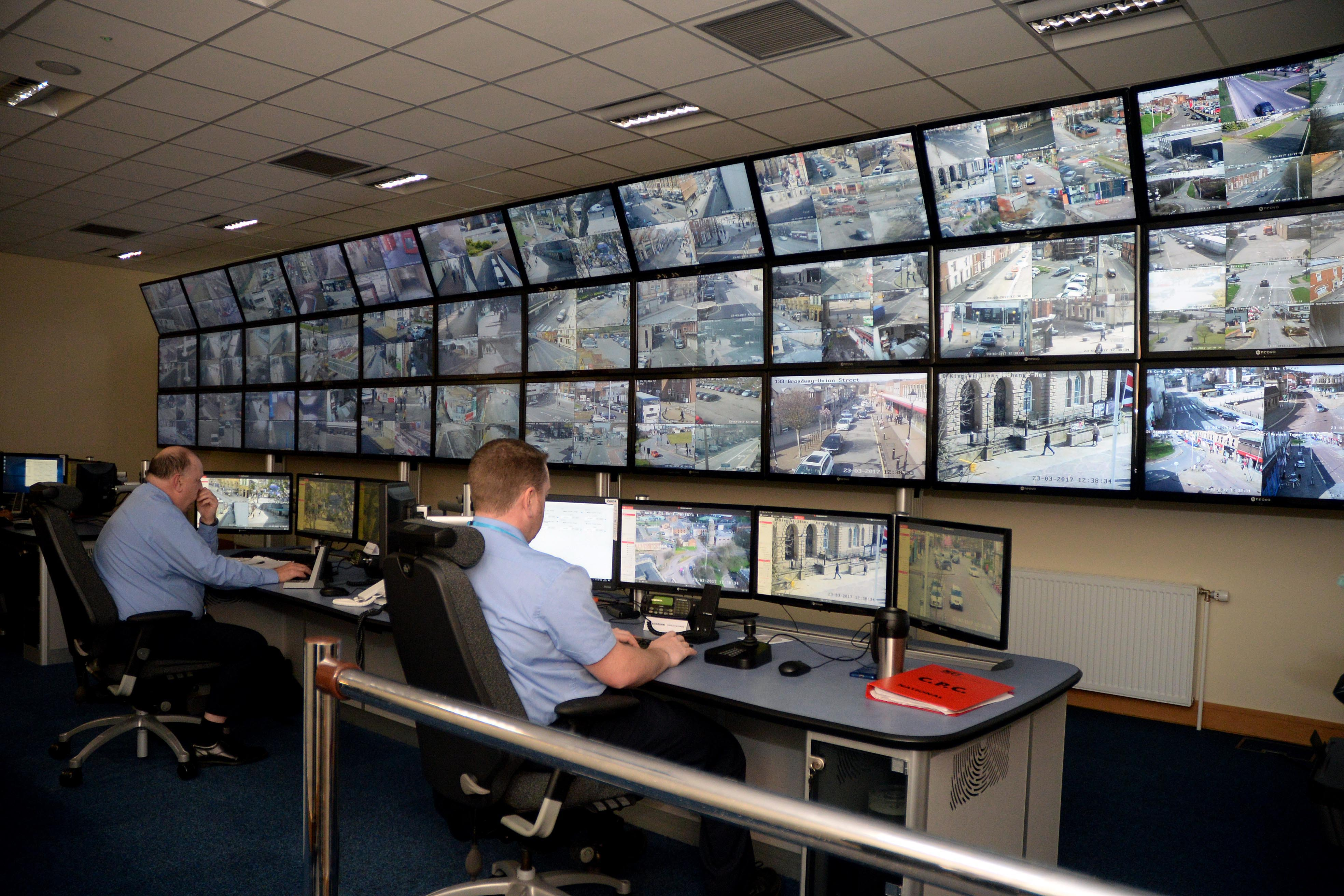 Openview security solutions oss cctv control room hub in for Control room design jobs
