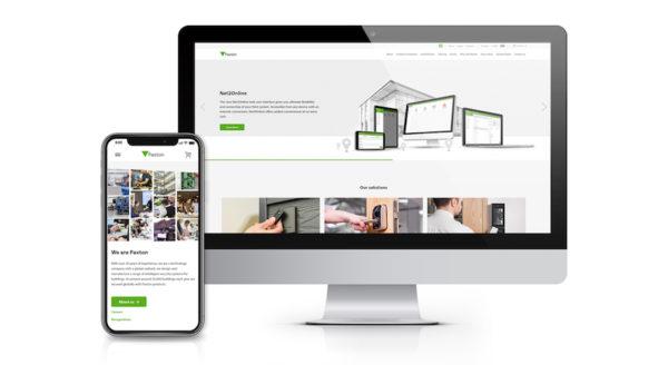 New Paxton website