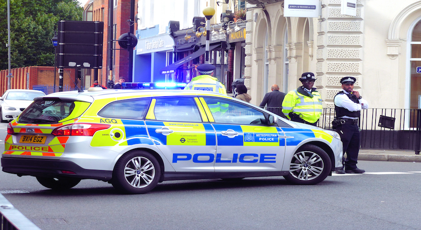 British Counter Terror Police