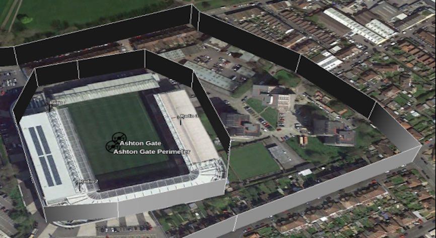 Stadium Perimeter