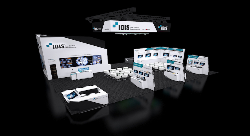 IDIS ISC West Booth