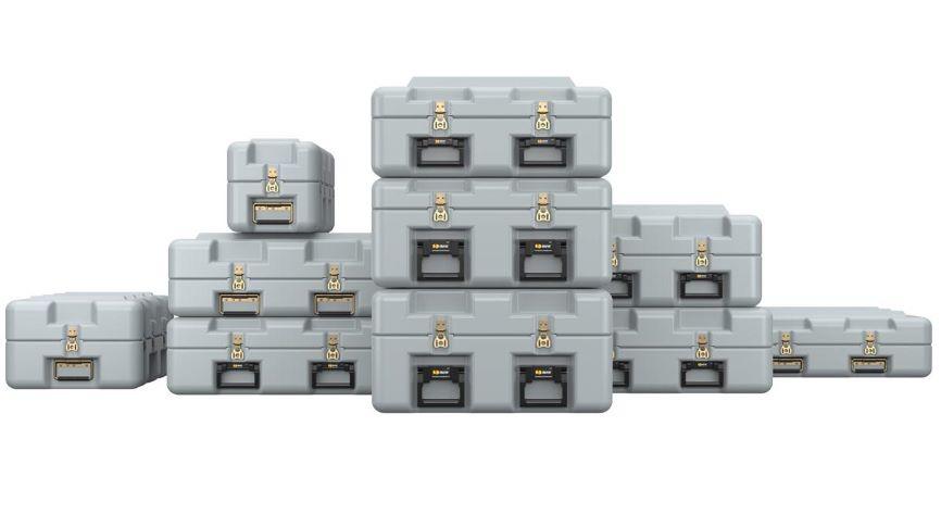 Peli light lift cases
