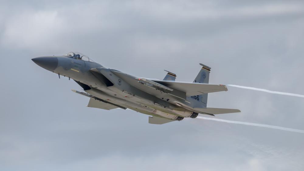 US F-15 pilot 'still missing'