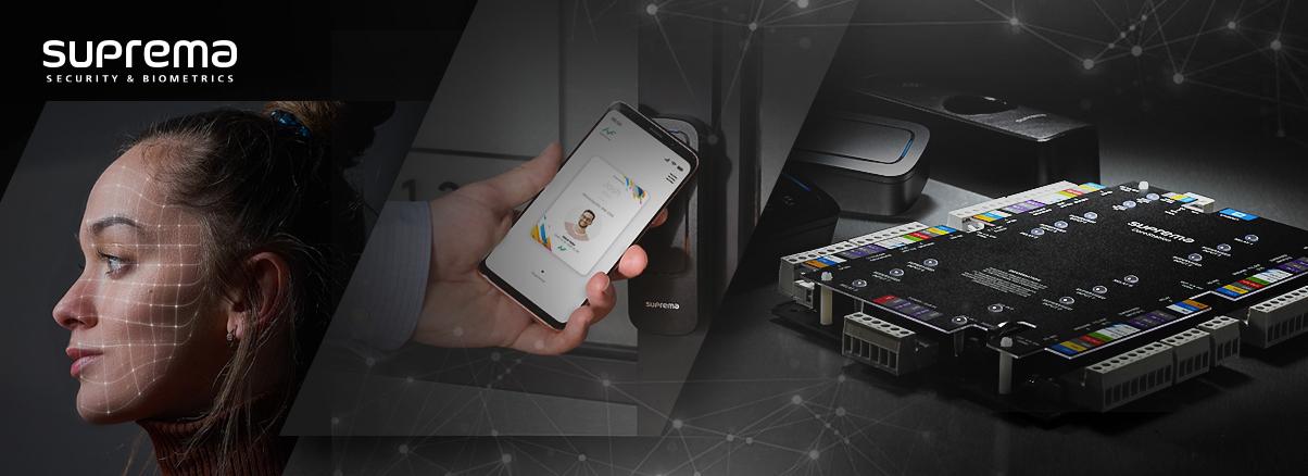 Suprema CoreStation offers multi-credential flexibility for access control