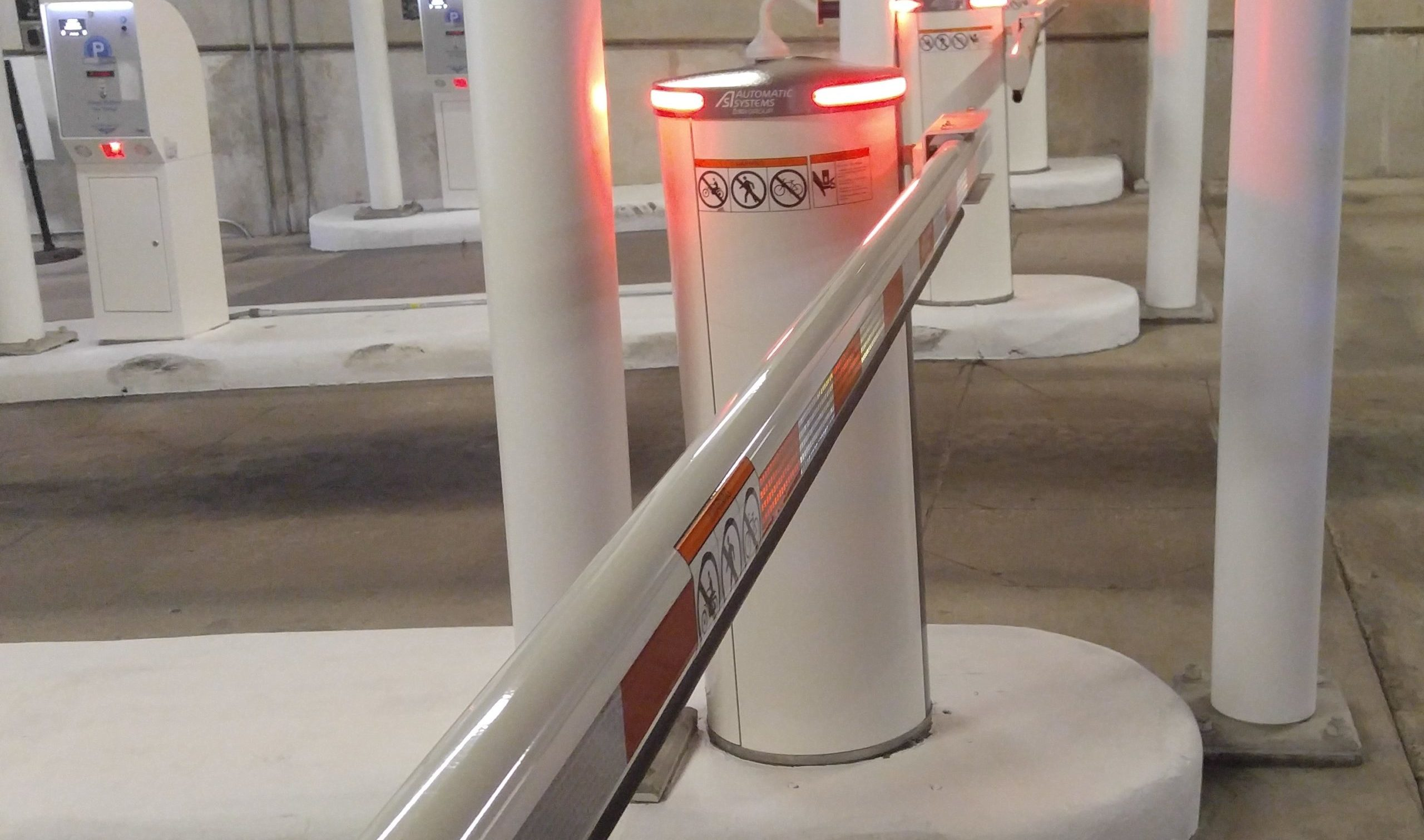 Automatic Systems Gates at major arena