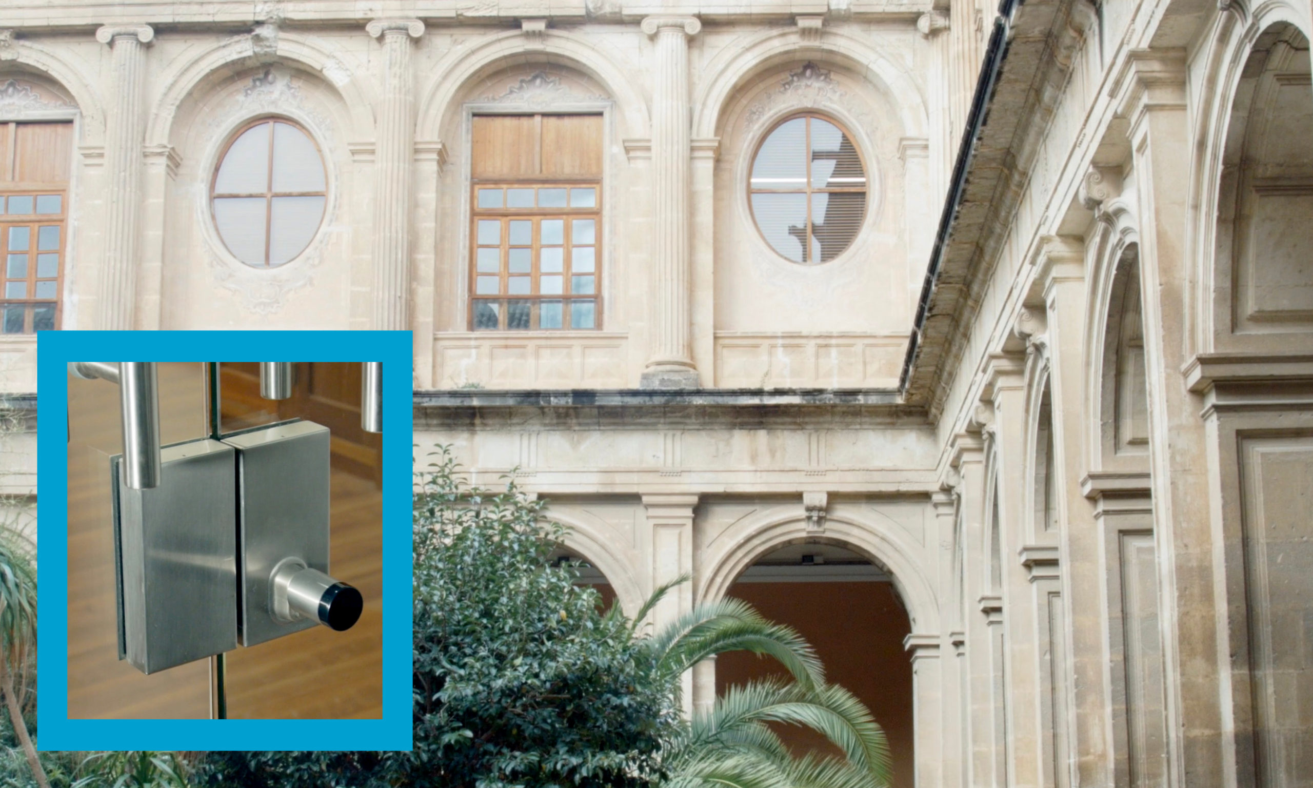 Old buildings are now easy to equip with the latest access control technologies