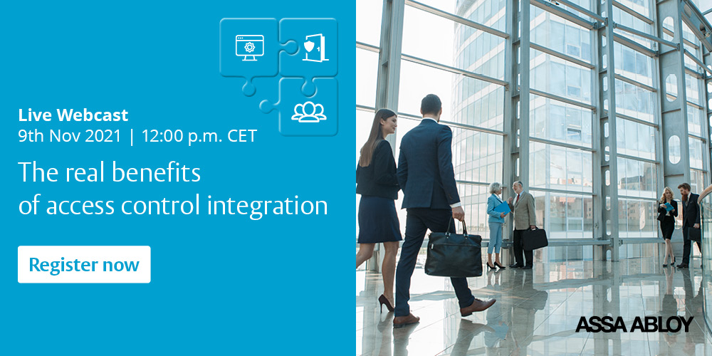 Register Now – The Real Benefits of Access Control Integration