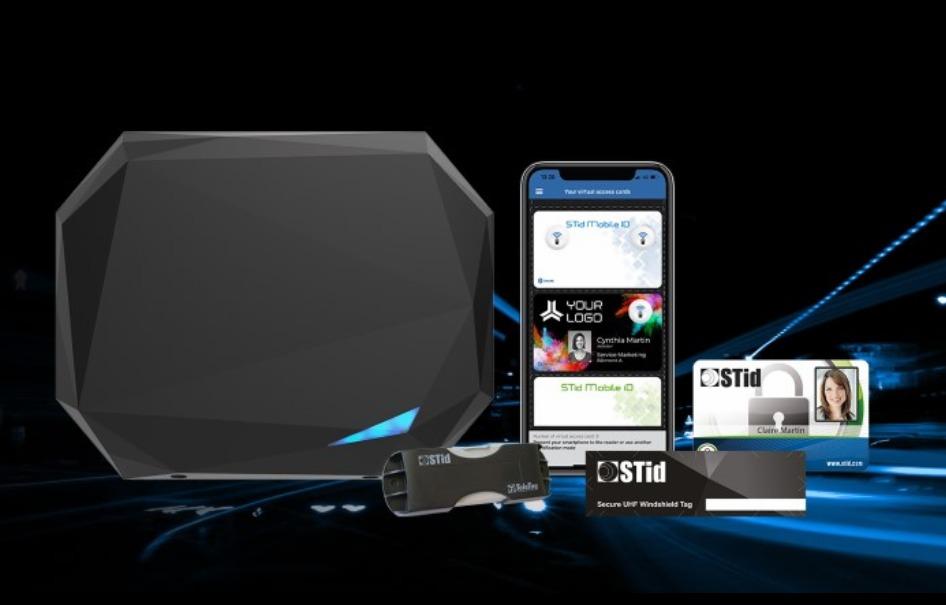 STid SPECTRE nano reader accelerates car park access control